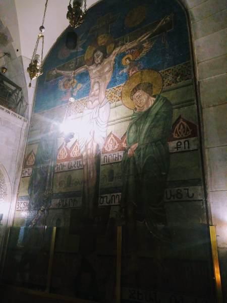 アダムの髑髏が描かれた絵