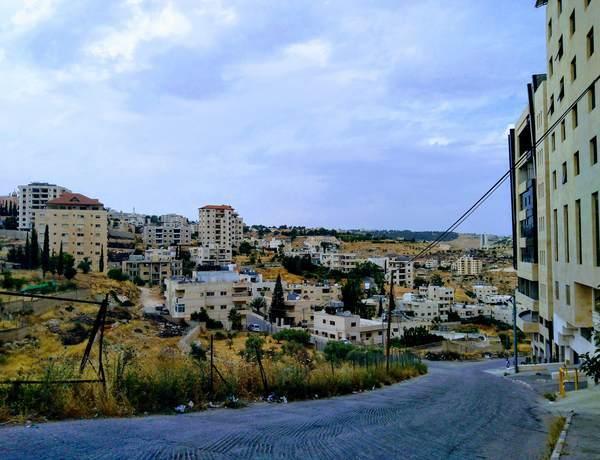 パレスチナ自治区の景観