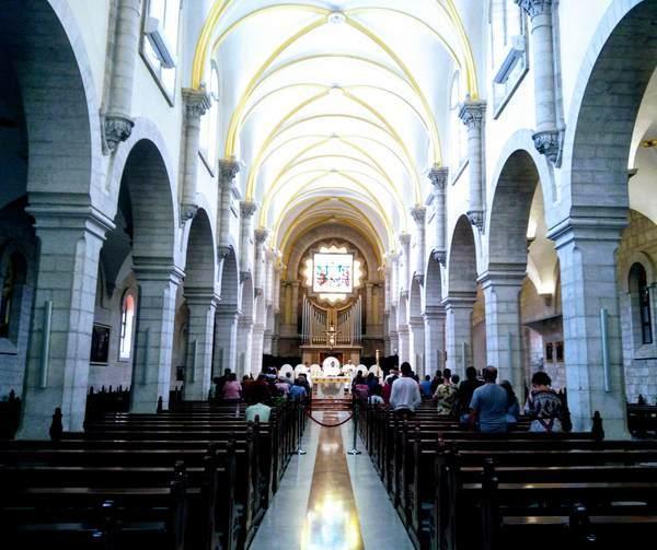 聖カテリーナ教会(内観)