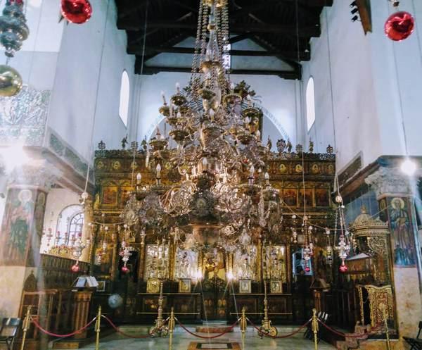 降誕教会の祭壇