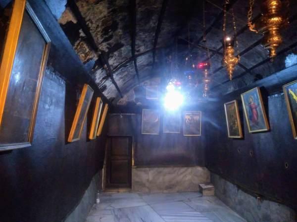 イエス生誕の地の近くにある部屋