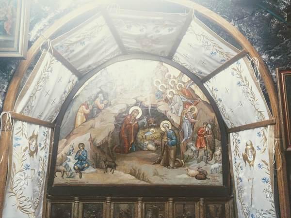 イエス生誕の地の上部