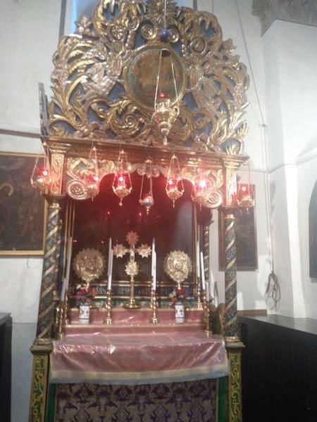 アルメニア教会の祭壇