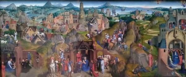 キリストの降臨と勝利(メムリンク)