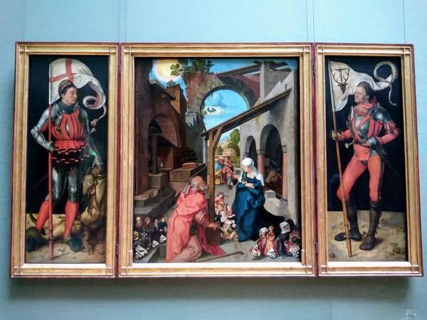 バウムガルトナーの祭壇画(デューラー)