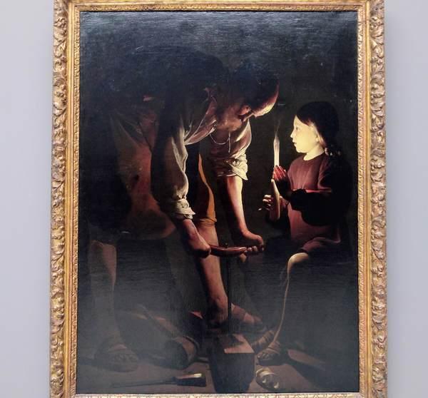 大工聖ヨセフ(ラ・トゥール)