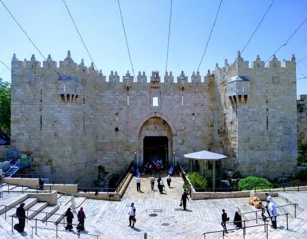 エルサレム旧市街の入口