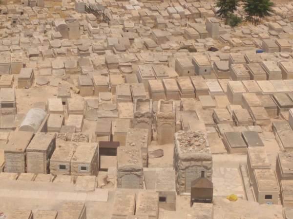 オリーブ山のユダヤ人墓地