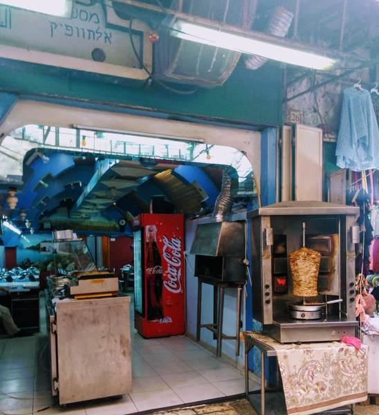 エルサレムの食堂
