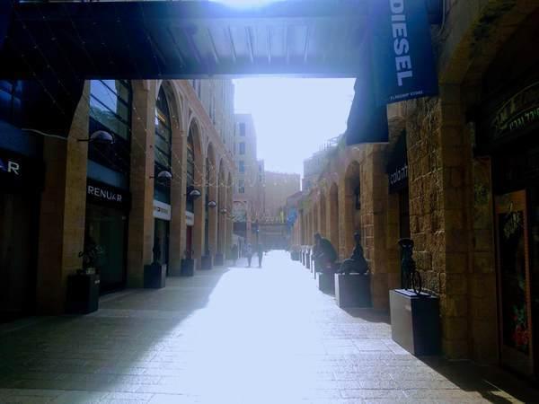 エルサレムのショッピングモール