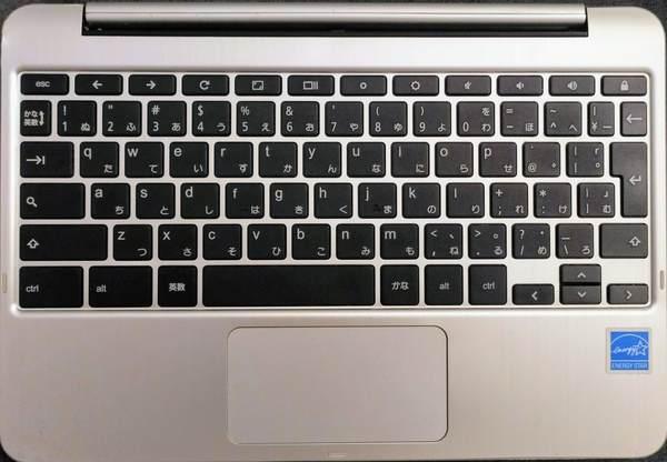 ASUS C101PAのキーボード