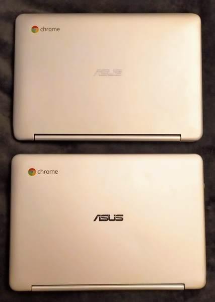 Chromebookが2台
