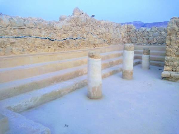 マサダ要塞のシナゴーグ