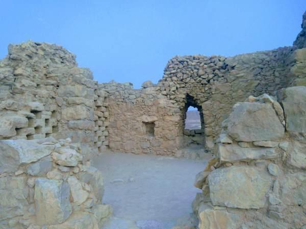 マサダ要塞の納骨堂