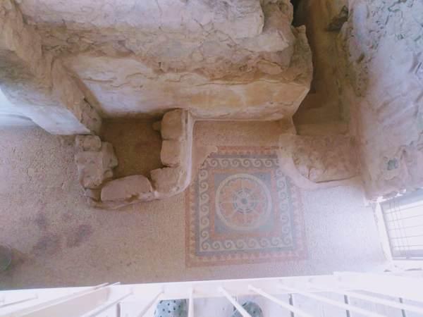 マサダ要塞の浴場