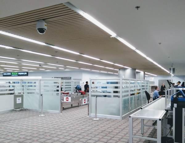 ベン・グリオン国際空港の検査場