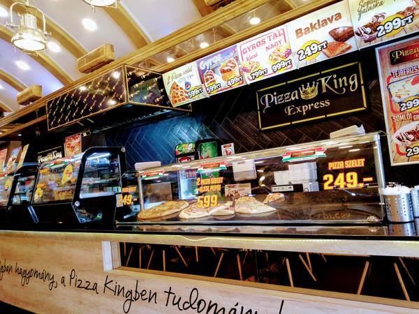 ブダペストのピザ屋