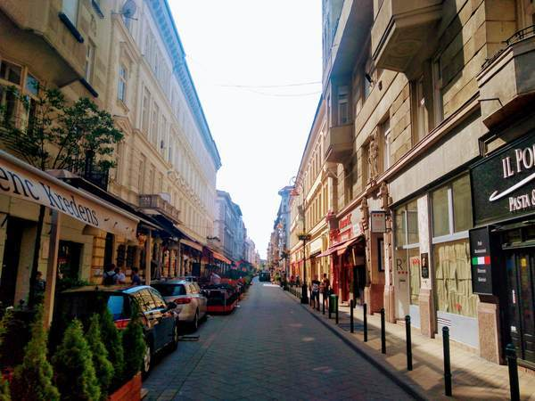 ブダペスト市街地