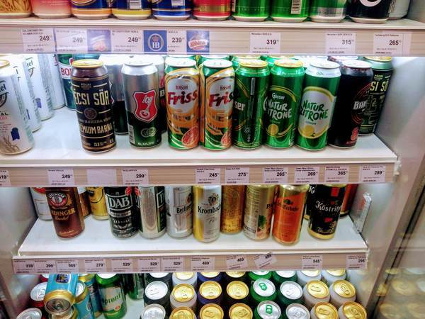 ブダペストのビール