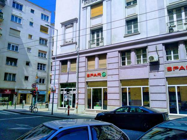 ブダペストにあるコンビニ(SPAR)