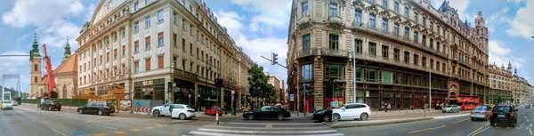ブダペストの街並み(パノラマ)