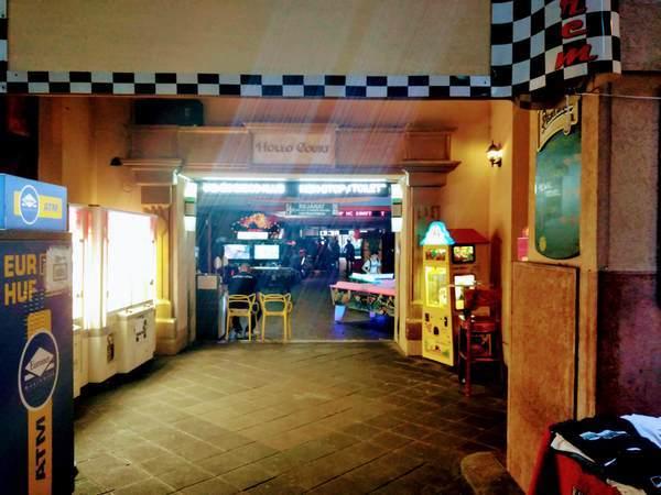 ゲームセンターの入口
