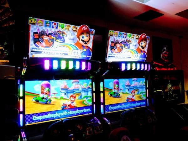 マリオのレースゲーム