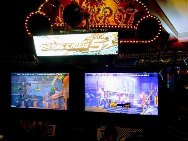 ゲームセンターのゲーム機