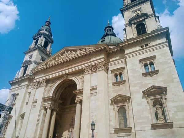 ブダペスト市内中心部にある建物