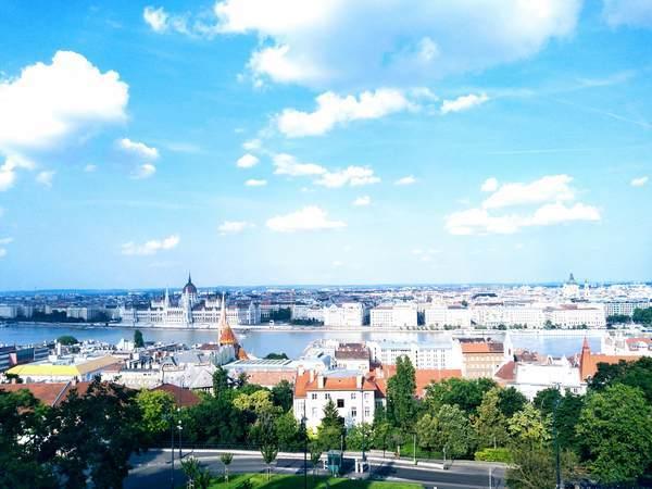 ブダペストの全景