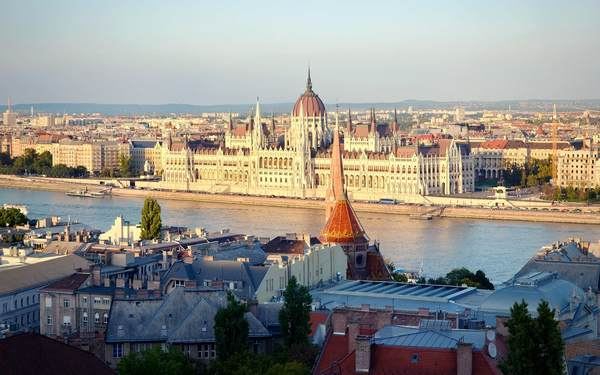 ブダペストにある国会議事堂