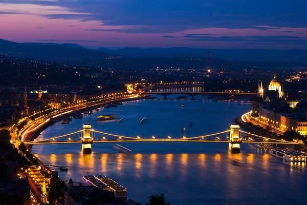 ブダペストの美しい景観