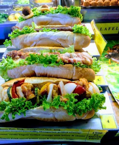 ハンガリーのサンドイッチ