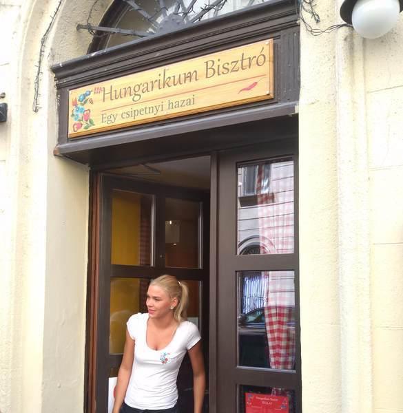 Hungarikum Bisztróの入口