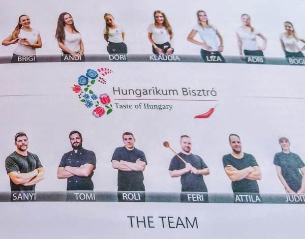 Hungarikum Bisztróのメンバー