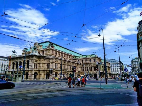 ウィーンのオペラハウス
