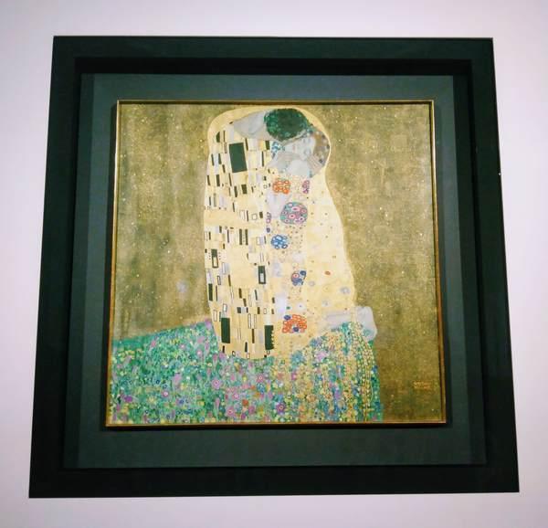 クリムト絵画『接吻』