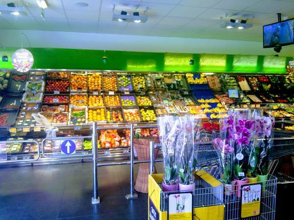 ウィーンにあるスーパーマーケット