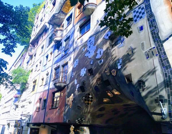 フンデルトヴァッサーハウスの外観
