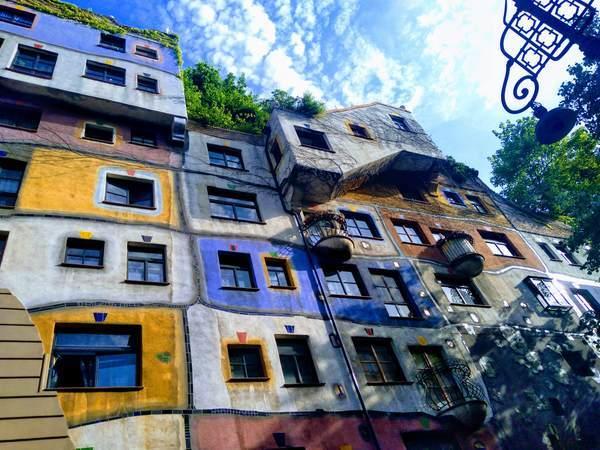 ウィーンのガウディの建築物
