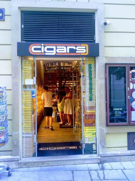 ウィーンのタバコ屋