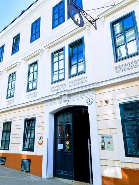 Jugendherberge Wienの入口