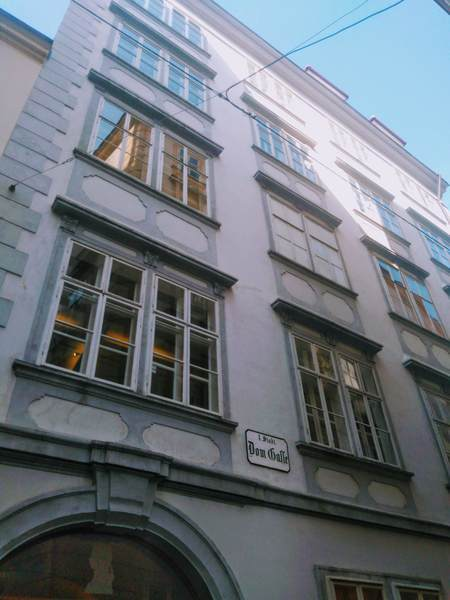 モーツァルトの住んでいた家