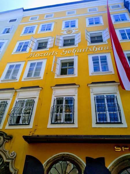 モーツァルトの生家の外観