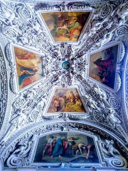 ザルツブルク大聖堂の天井画
