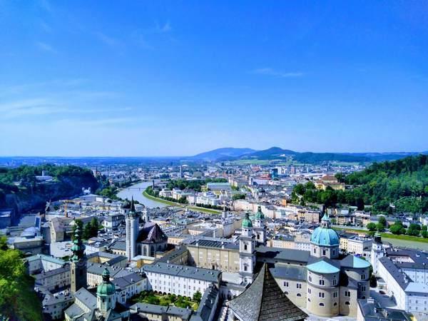 ザルツブルクの絶景