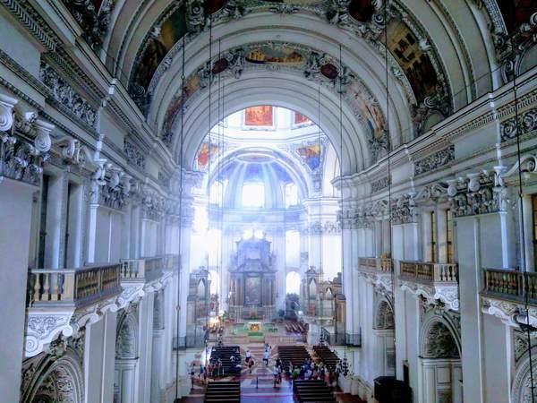 ザルツブルク大聖堂のパイプオルガン
