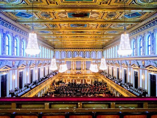 ウィーン楽友協会の黄金ホール