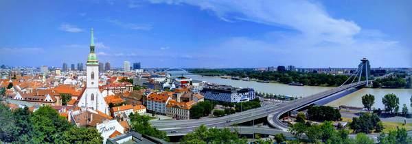 ブラチスラバ城から見た絶景