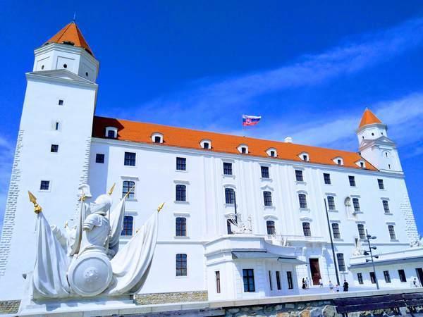 ブラチスラバ城の外観